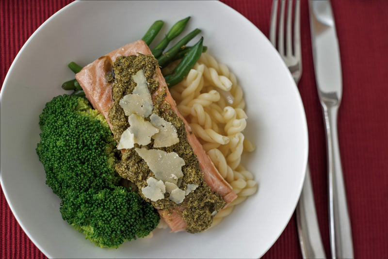 Pesto Salmon Fillet