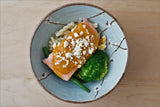 Salmon with Roast Butternut Pumpkin Sauce