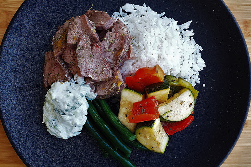 Greek Style Roast Lamb
