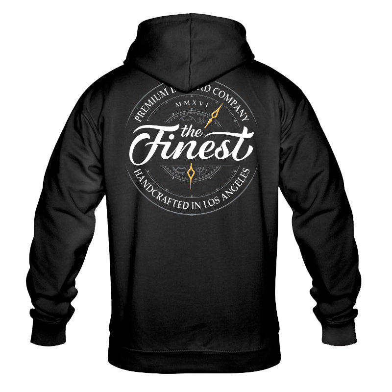 The Finest Black Hoodie
