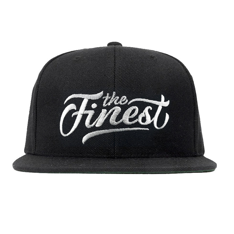 The Finest Black Snapback