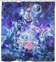 Transcension - Shower Curtain
