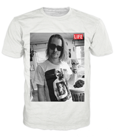 Macaulay Culkin Wearing Ryan Gosling LIFE T-Shirt