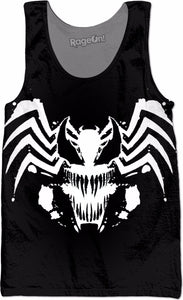 Venom Inverted Face Logo Tank Top