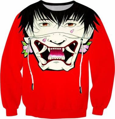 Red Irezumi Sweatshirt