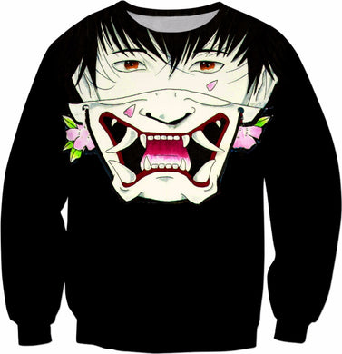 Black Irezumi Sweatshirt