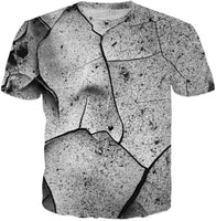 Abstract Cracks T-Shirt