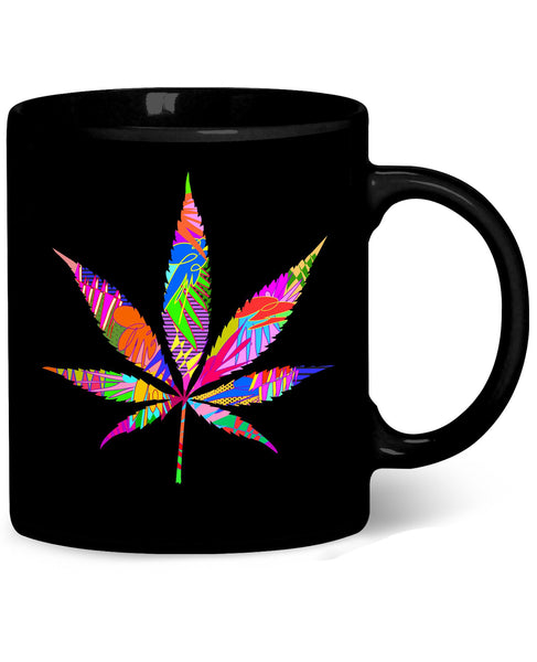 Weed Leaf Coffee Mug