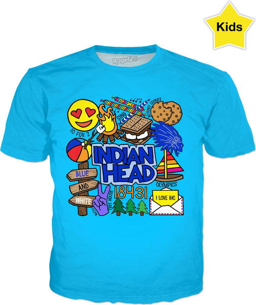 Indian Head Kids T-Shirt