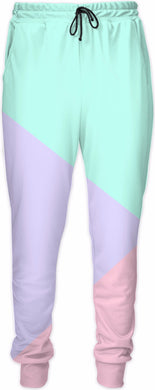 Pastelae Color Block Sweatpants