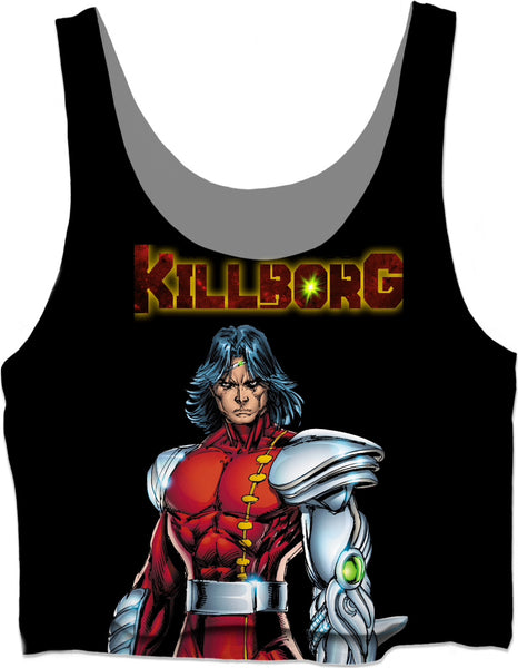 KILLBORG By Will Torres Crop Top