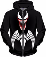 Venom Blacked Out Hoodie