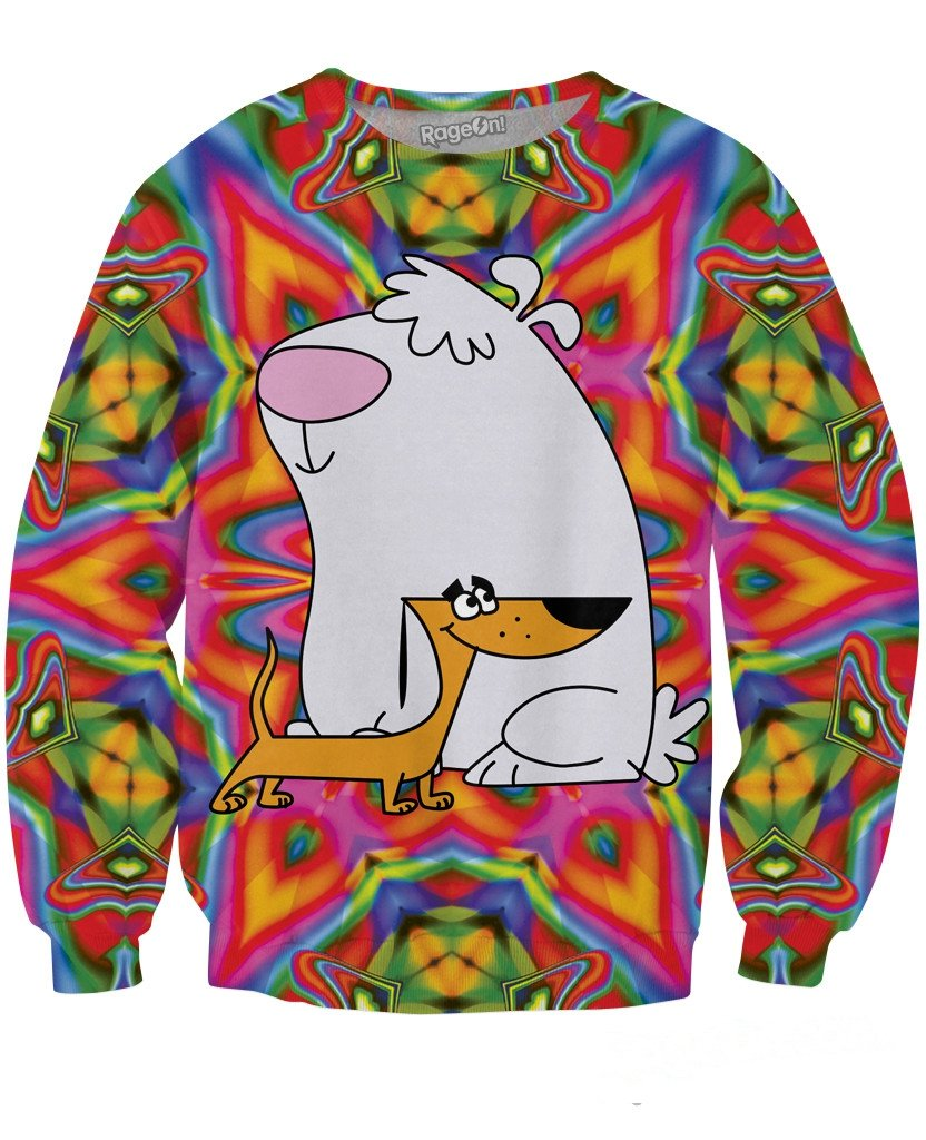 2 Stupid Dogs Sweatshirt