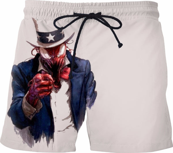 Uncle Carnage Wants You Swim Trunks