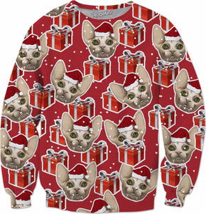 Hairless Christmas Crewneck Sweatshirt