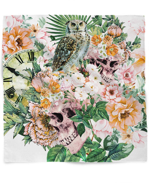 Interpretation of a dream - Owl with Skulls