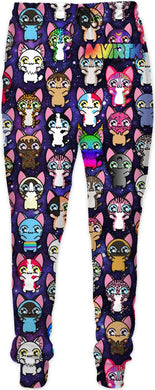 MVTRTK SPACE KITTY Joggers
