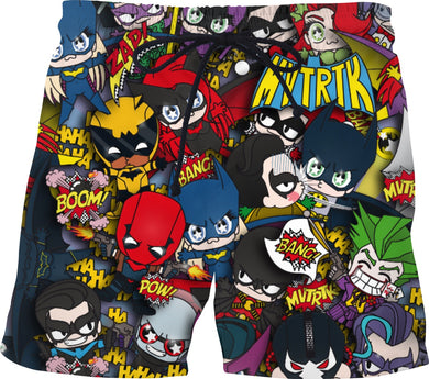 MVTRTK BATMANFAMILY Swim Shorts