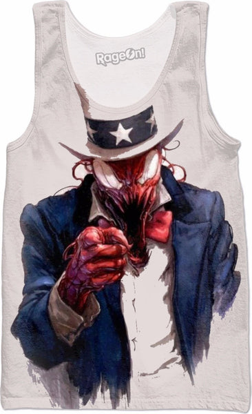 Uncle Carnage Wants You Tank Top