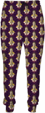 Frida Portrait Pattern Joggers