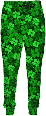 Shamrock Green Clustered Joggers