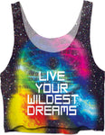 Live Your Wildest Dreams Crop Top