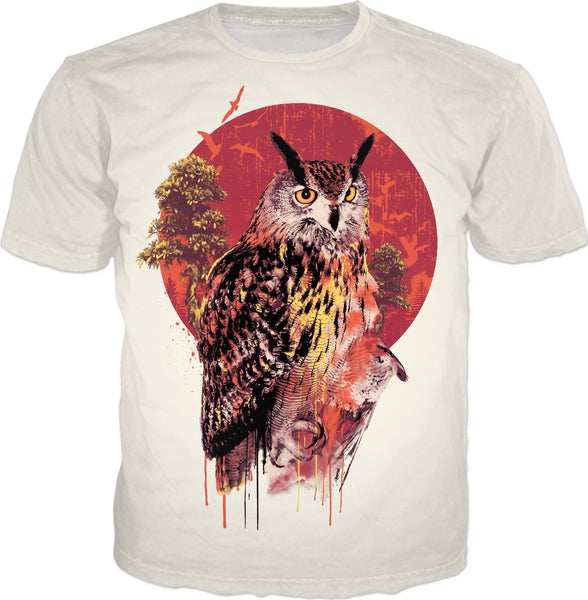 Owl Red Ts
