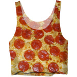 Pizza Slut Crop Top