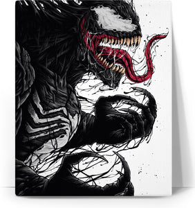 Venom Number 6 Canvas