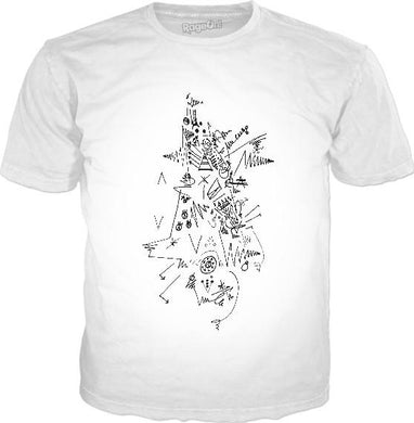 Abstract Lesson 101 White Classic T-Shirt