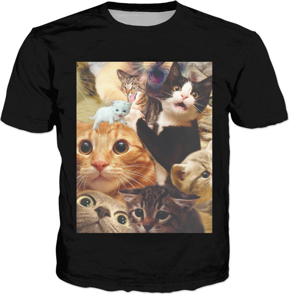 Surprised Cats Classic T-Shirt