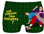 Spanking Santa Ugly Sweater Christmas Cheesecake Boys Undies