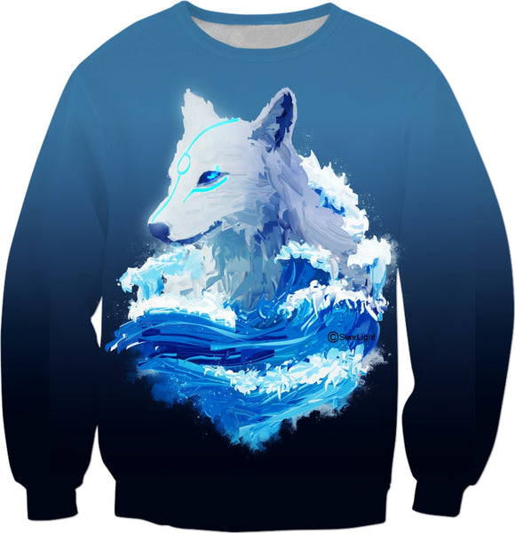 Wolf Wave Sweatshirt