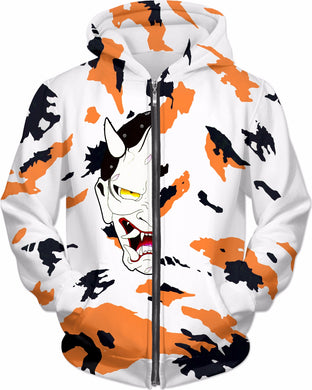 Totem Koi Hoodie with Demon