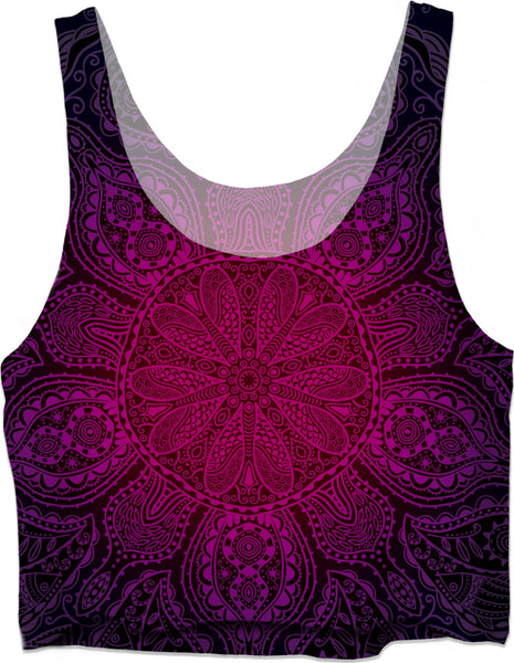 Mandala Love - Crop Top