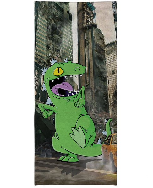 Reptar Beach Towel
