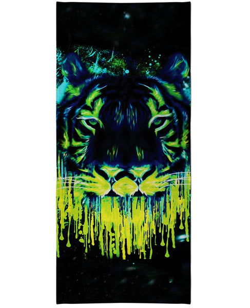 Tiger Drippy Beach Towel