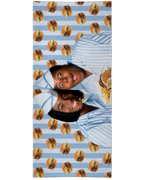Good Burger Beach Towel