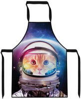 Space Cat Cooking Apron