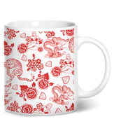 Fine China Coffee Mug