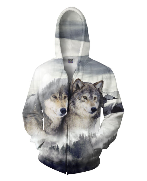 Wolf Ridge Zip-Up Hoodie