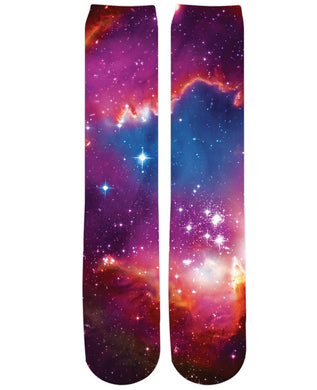 Cosmic Forces Knee-High Socks
