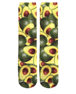 Avocado Knee High Socks