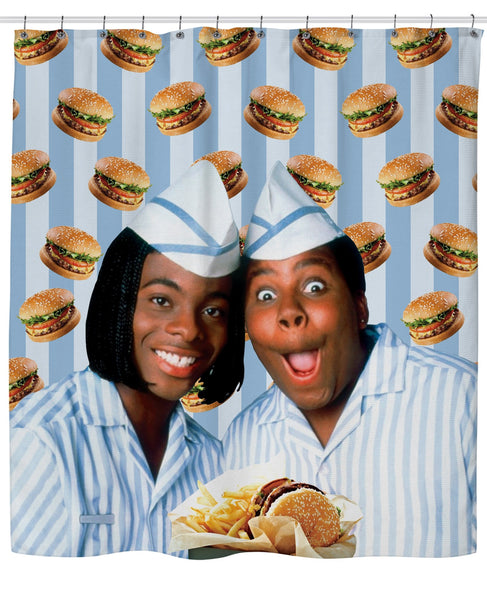 Good Burger Shower Curtain
