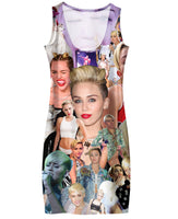 Miley Cyrus Paparazzi Simple Dress