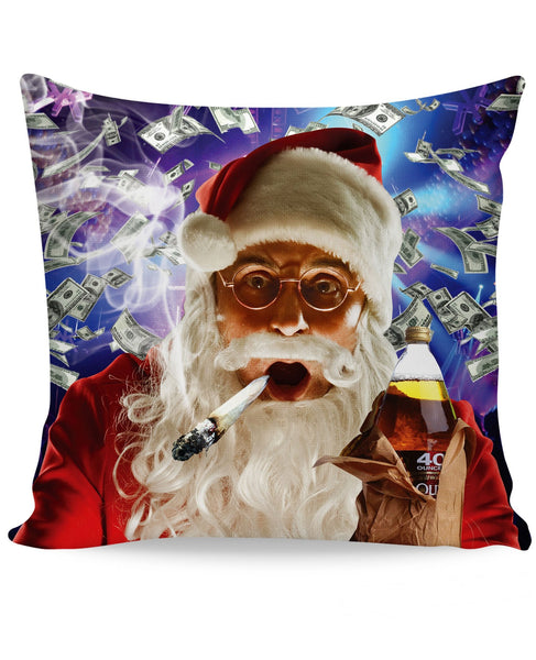Club Santa Couch Pillow