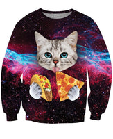 Taco Cat Crewneck Sweatshirt