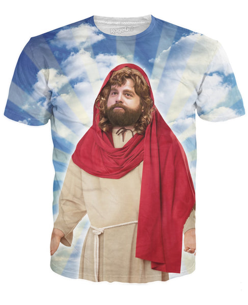 Praise Fat Jesus T-Shirt