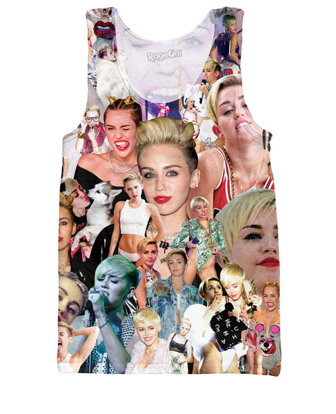 Miley Cyrus Paparazzi Tank Top