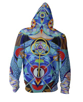 Guardian at the Gate Zip-Up Hoodie